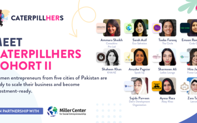 CaterpillHERs New Cohort With 11 Women-Led Social Enterprises Takes off
